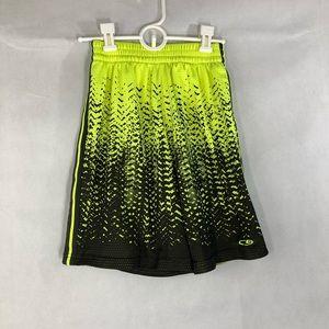 3/$30 Boy's Champion Lime Green & Black  Shorts